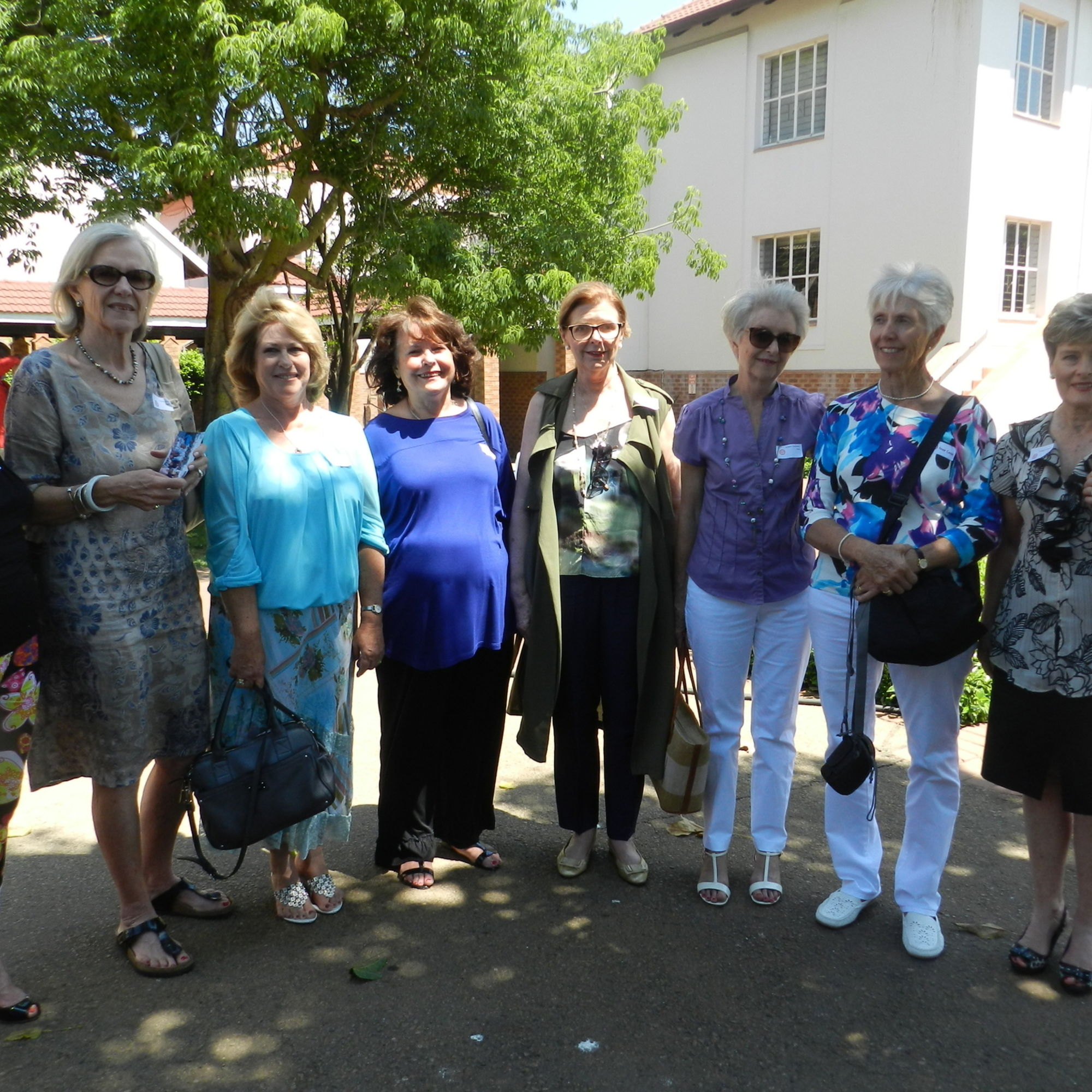 Class of 1965 getting together at old girls day