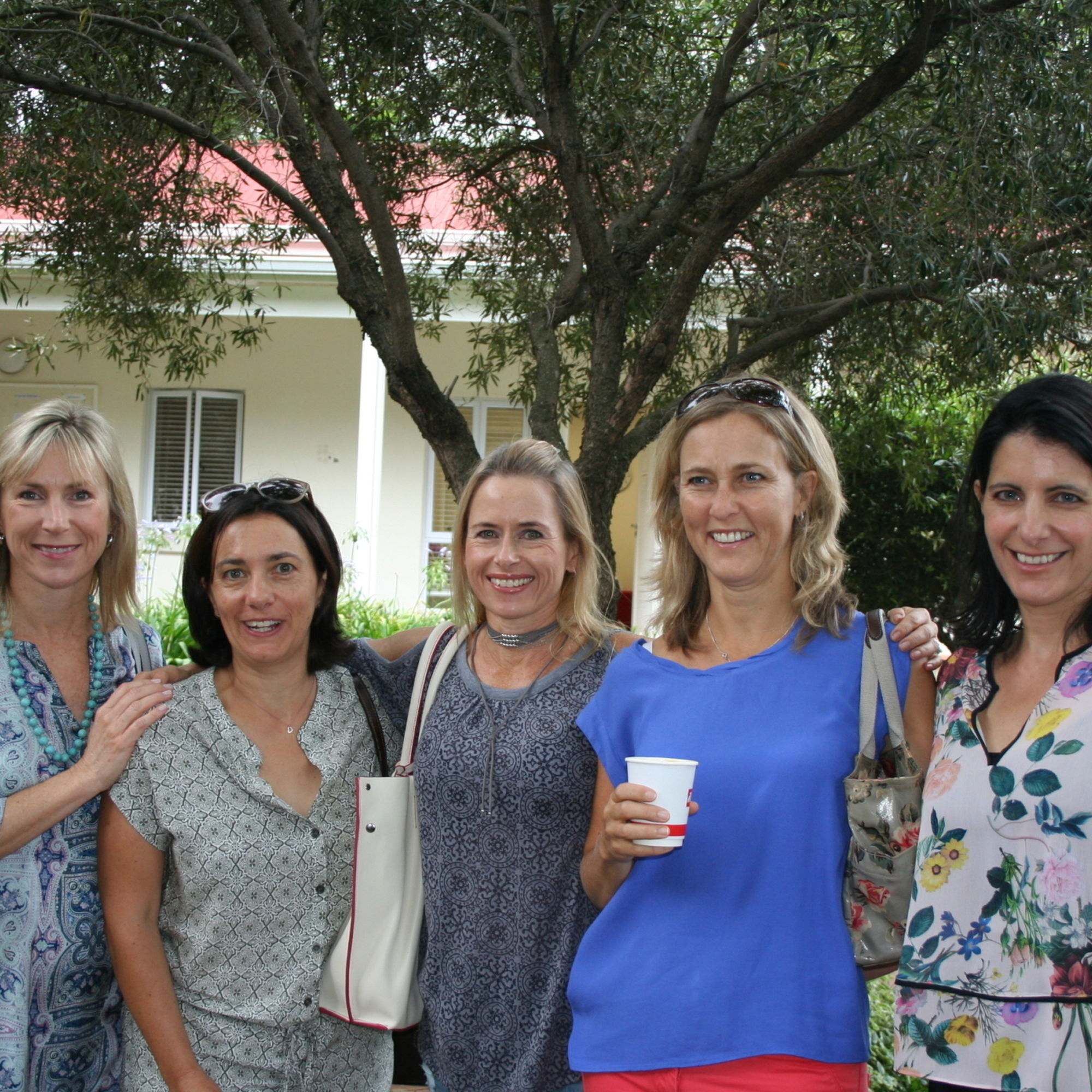 Once a year old girls who have chosen to send their daughters to st marys get together for a celebratory breakfast