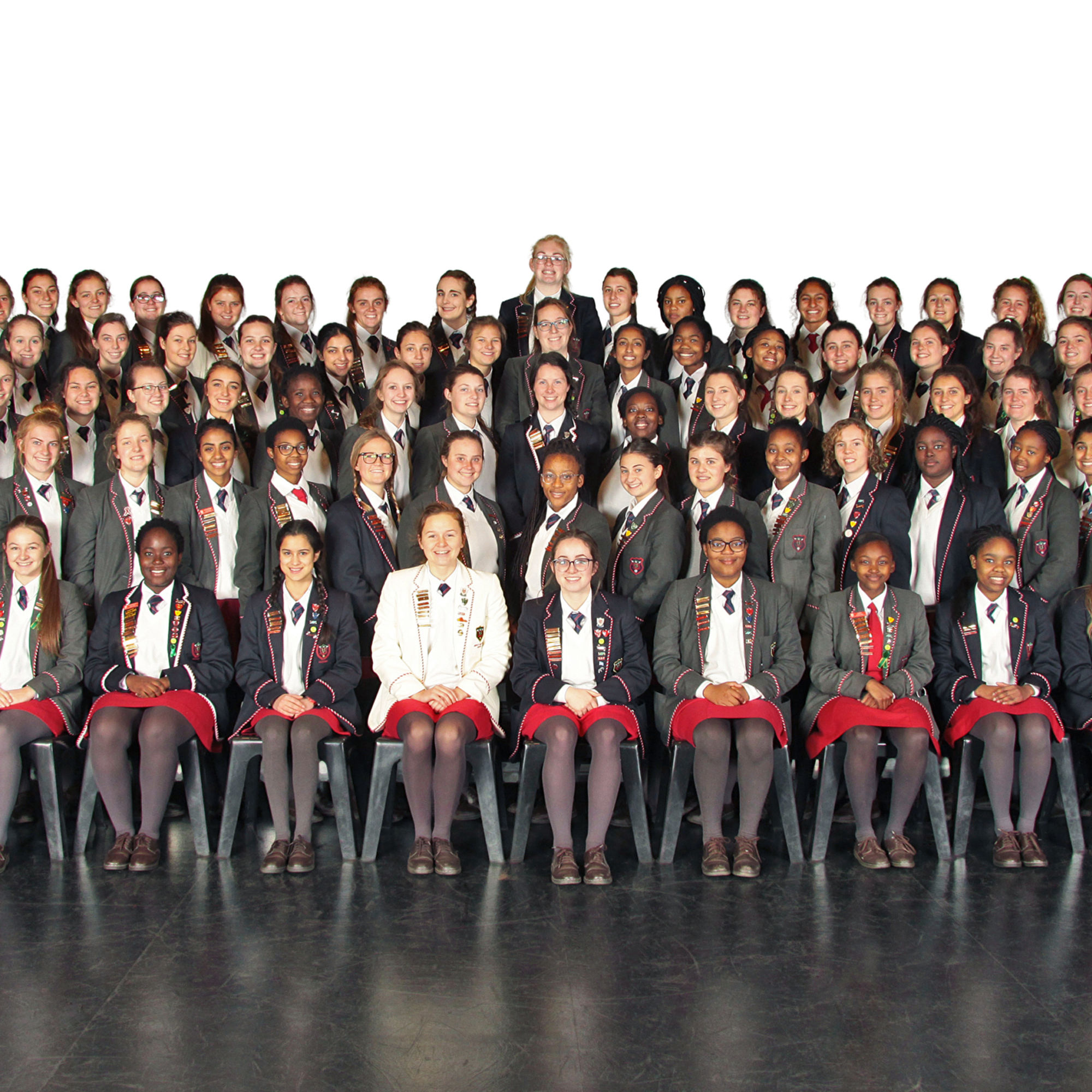 Girls on the leadership programme 2016