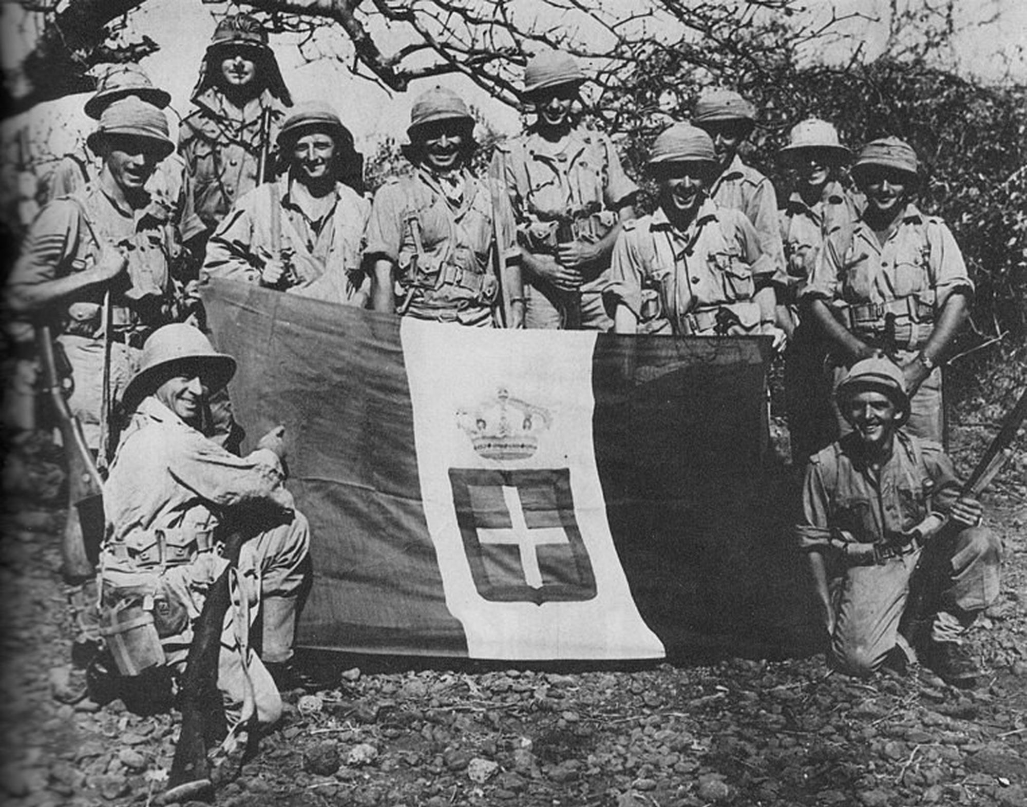 South africans in ethiopia 1941
