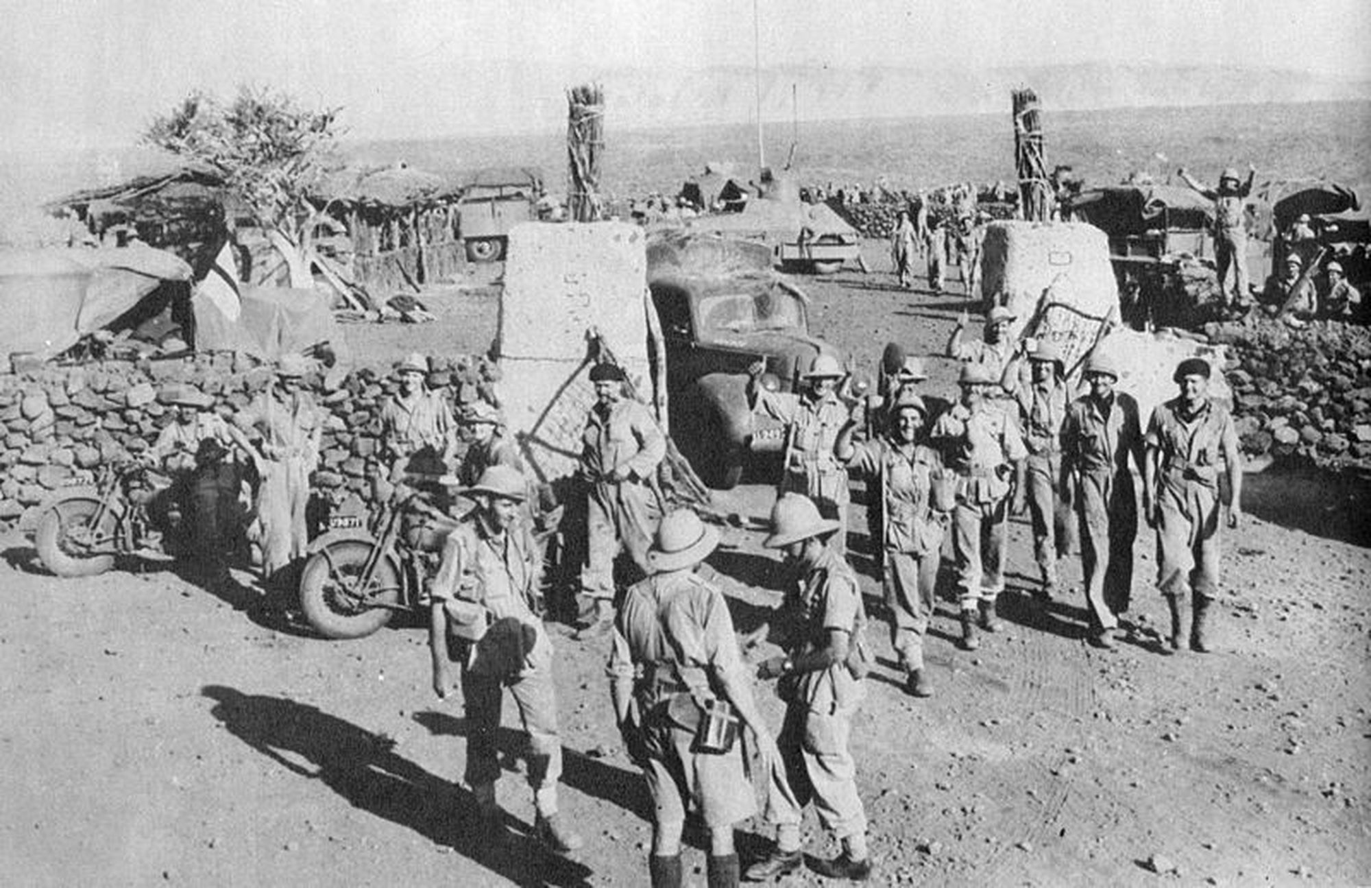 Hobok fort ethiopia captured by south africans 1941