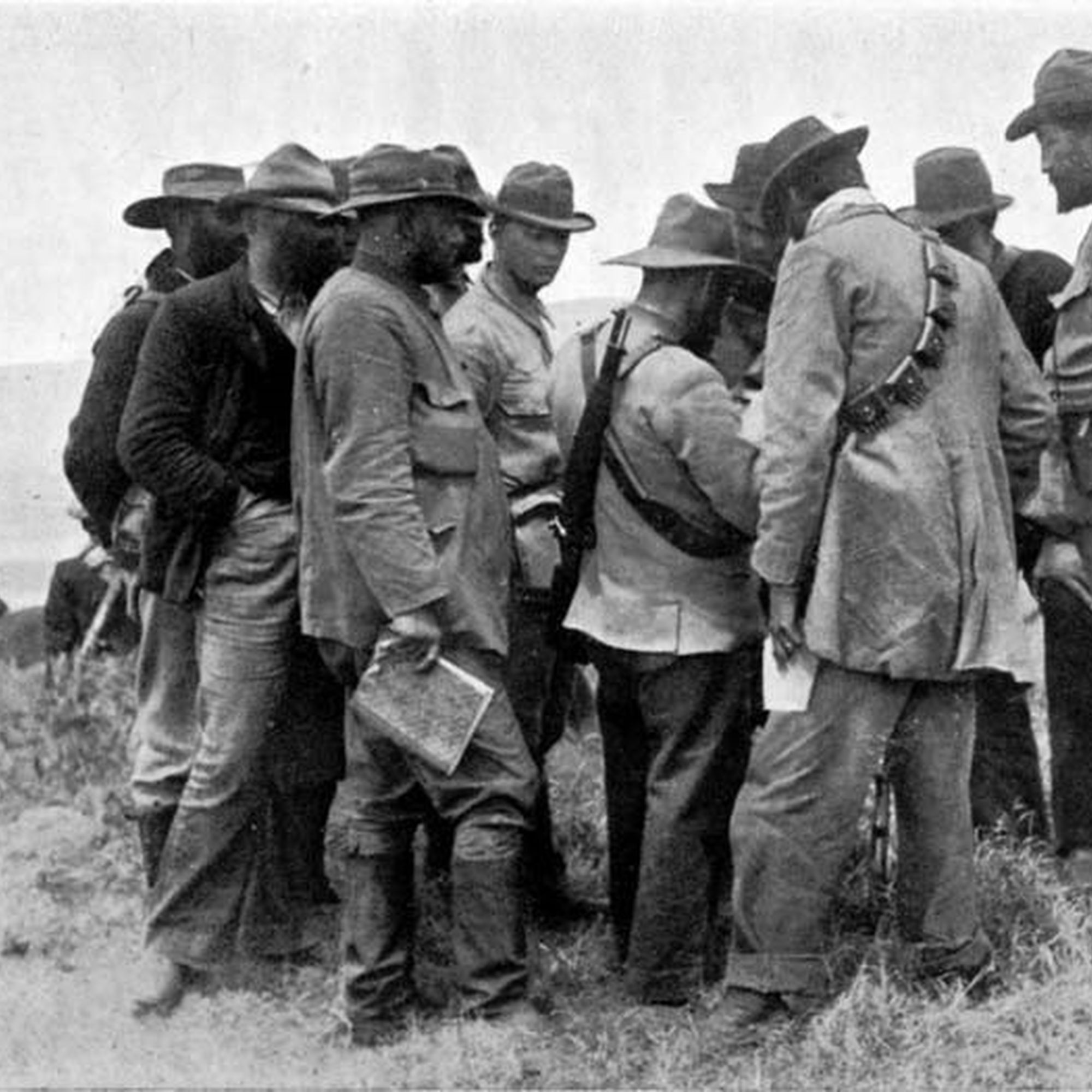 Boer generals in consultation